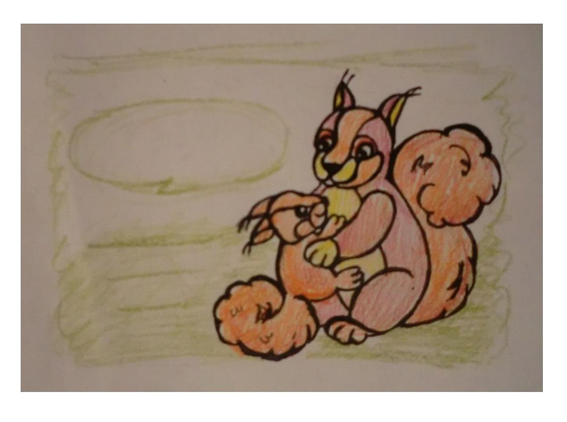 Конкурс на создание макета визиток сообщества мам (белочки). фото f_62459bc36c61609d.jpg