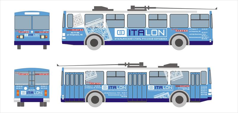 Троллейбус ИТАЛОН