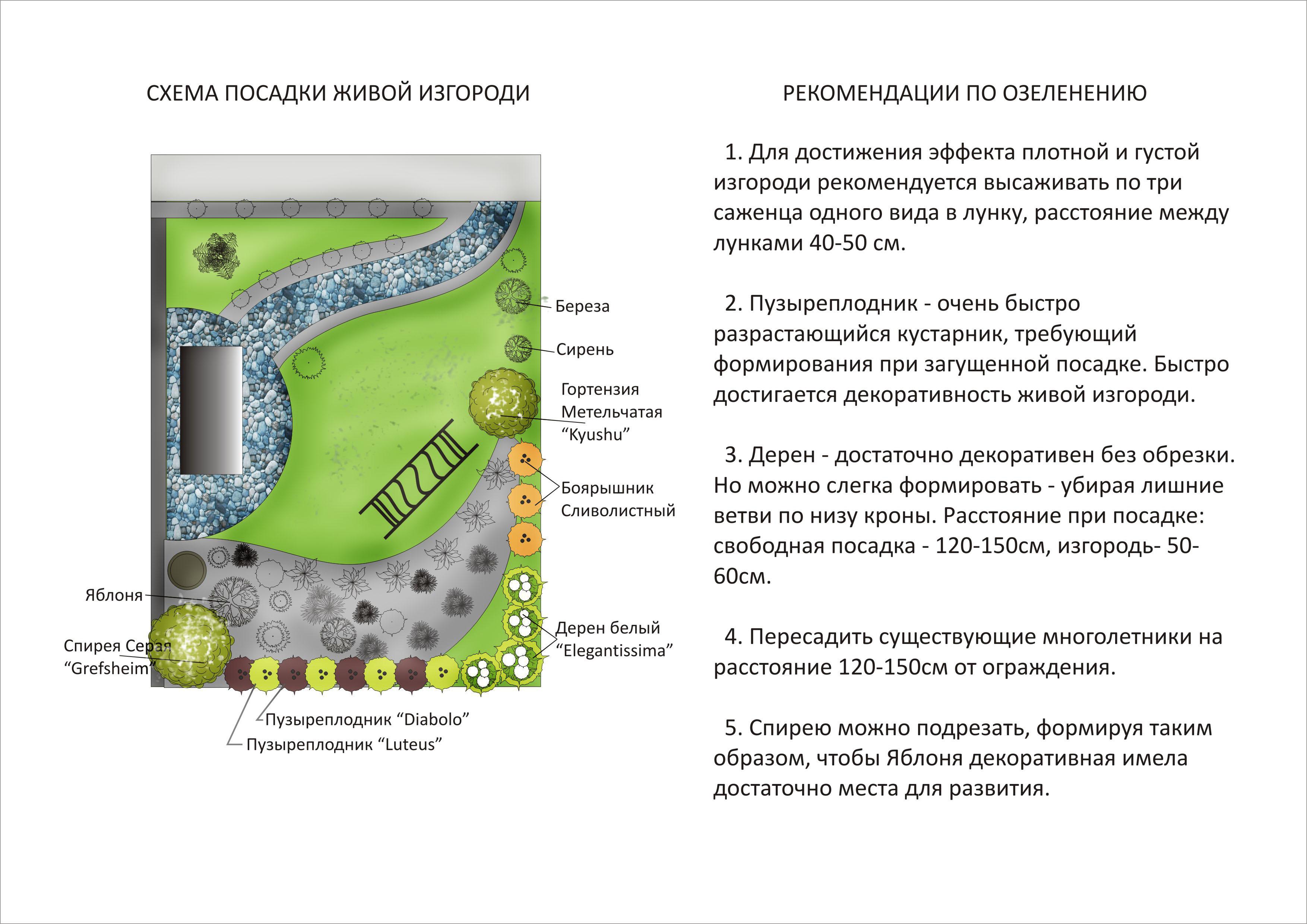 Частичное озеленение