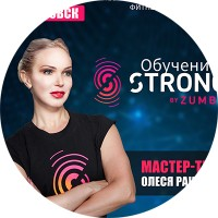 Макет «STRONG by Zumba»