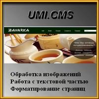 UMI. CMS. Магазин чая