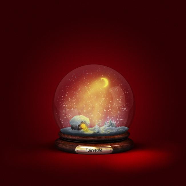 шар со снегом