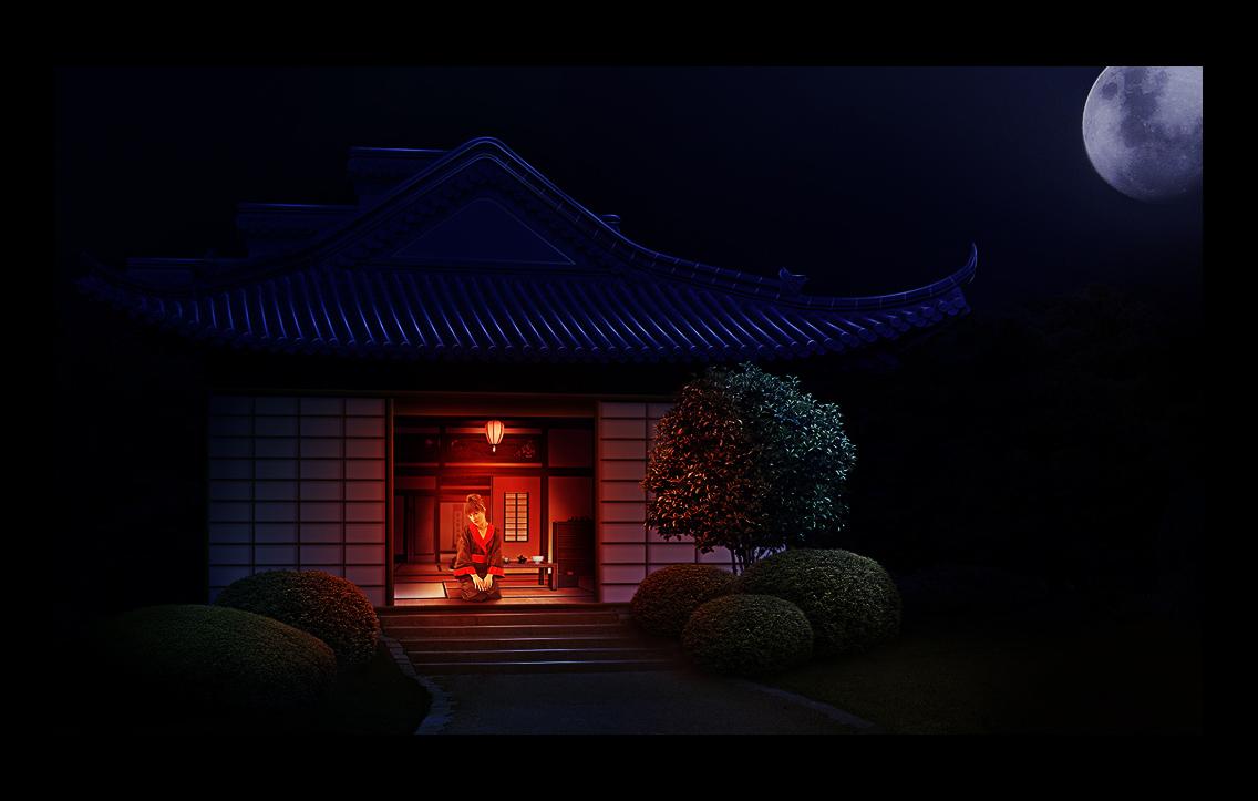 японская ночь