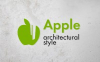 logo Apple architectural style