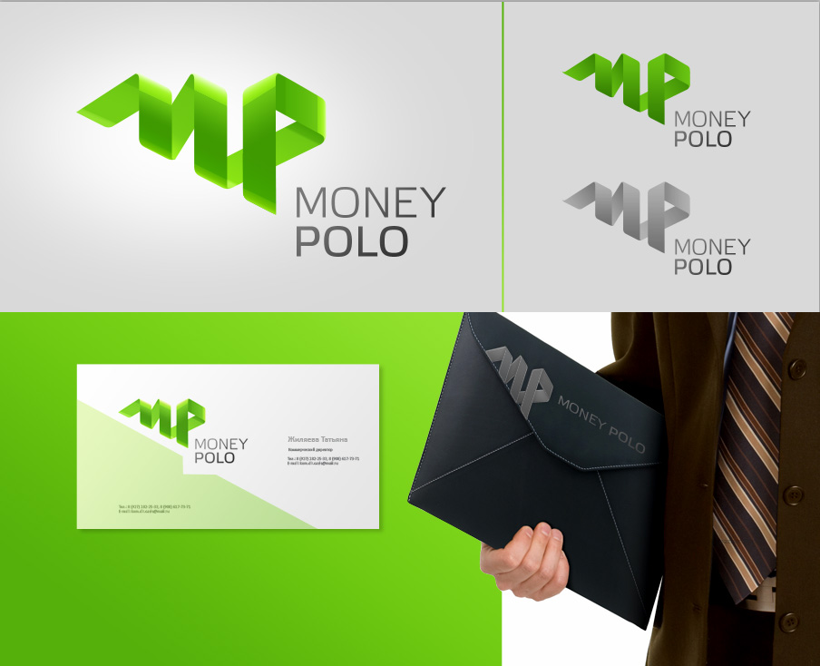 "Вариант логотипа для ""MoneyPolo"""