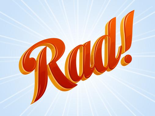 "Логотип ""Rad"""