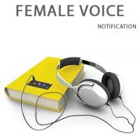 Начитка для сайта аудиокниг (жен)