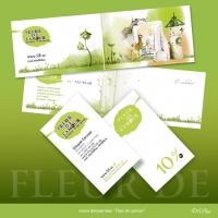 визитки и визитка -открытка для FDL