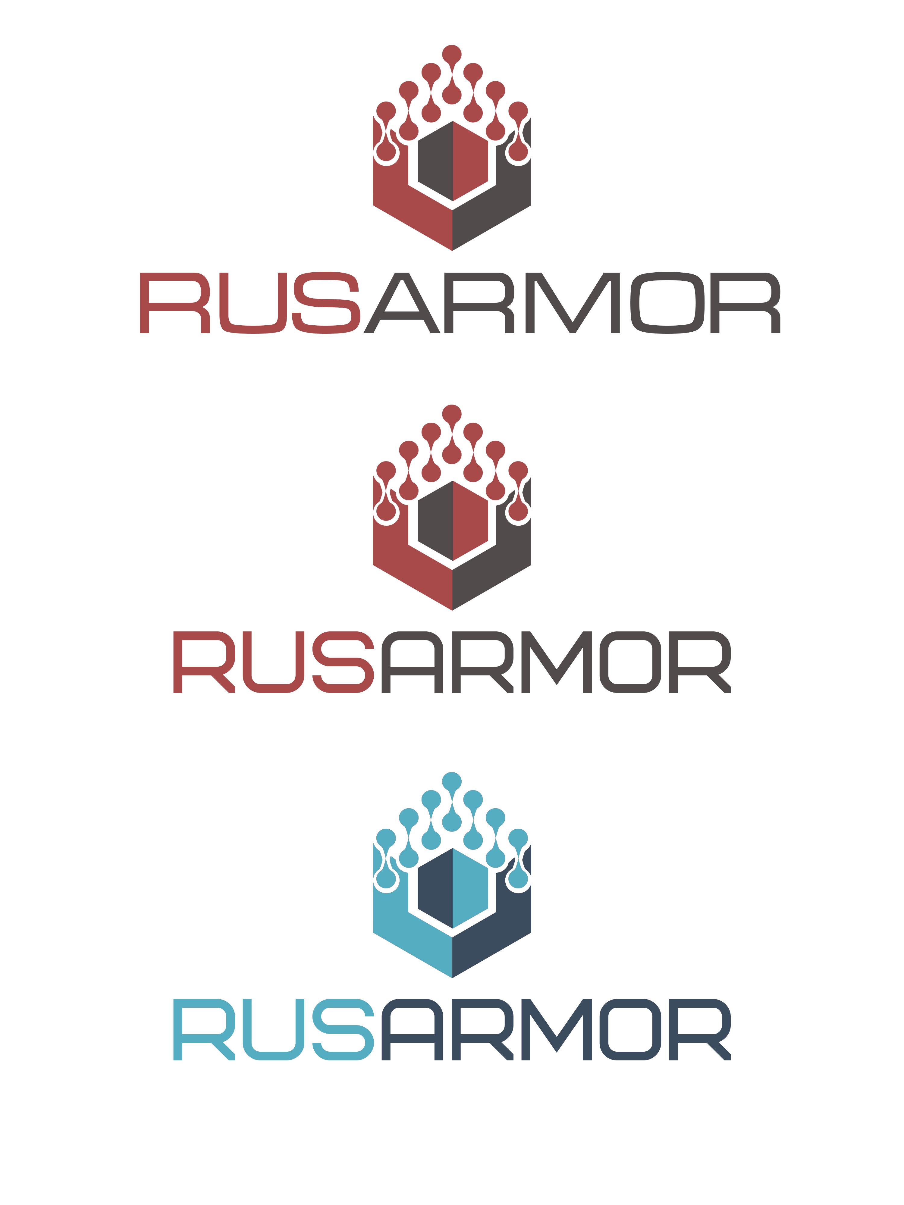 Разработка логотипа технологического стартапа РУСАРМОР фото f_8555a0ee5d8188a8.png
