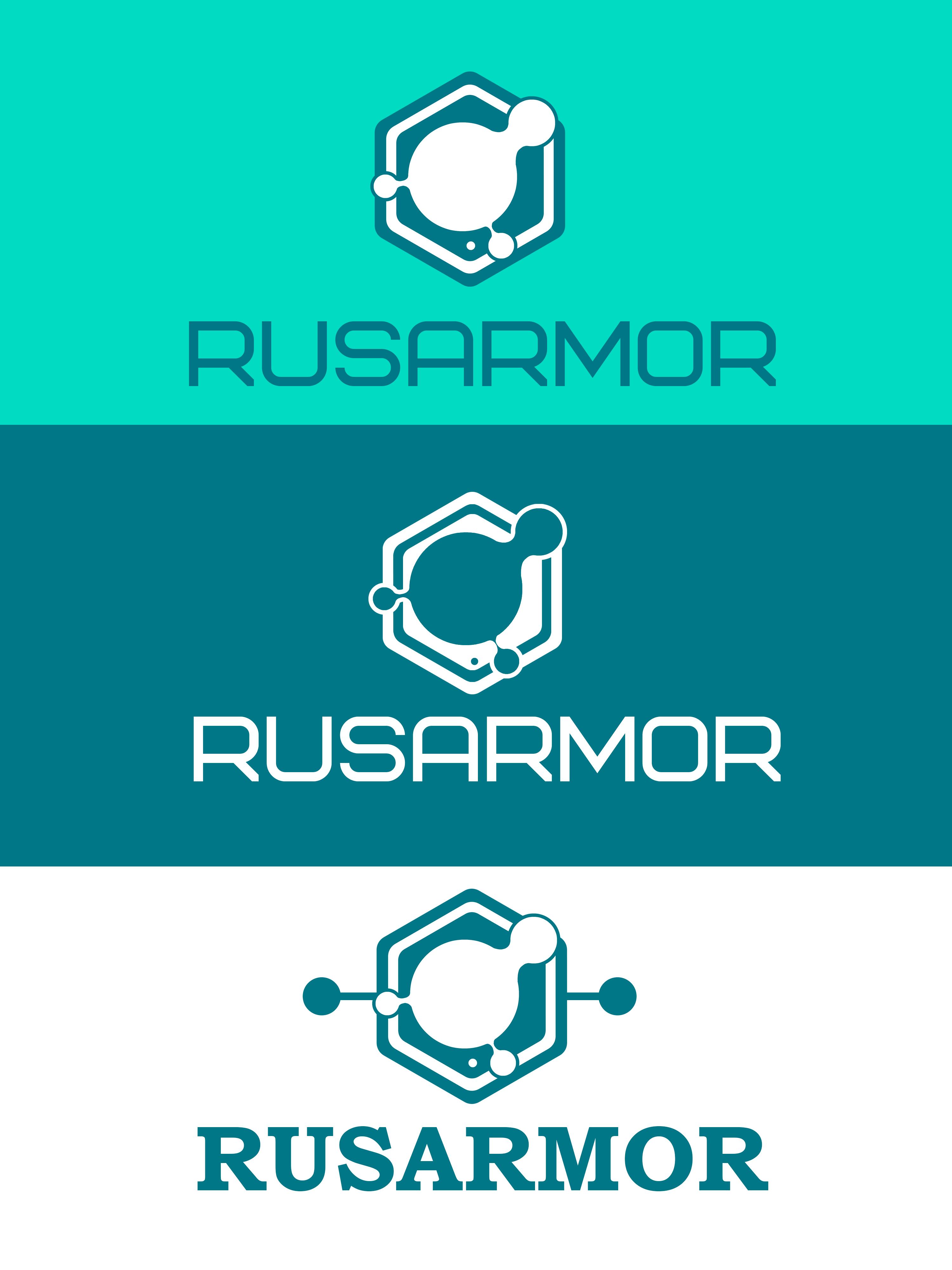 Разработка логотипа технологического стартапа РУСАРМОР фото f_8965a0ea3577fe7c.png