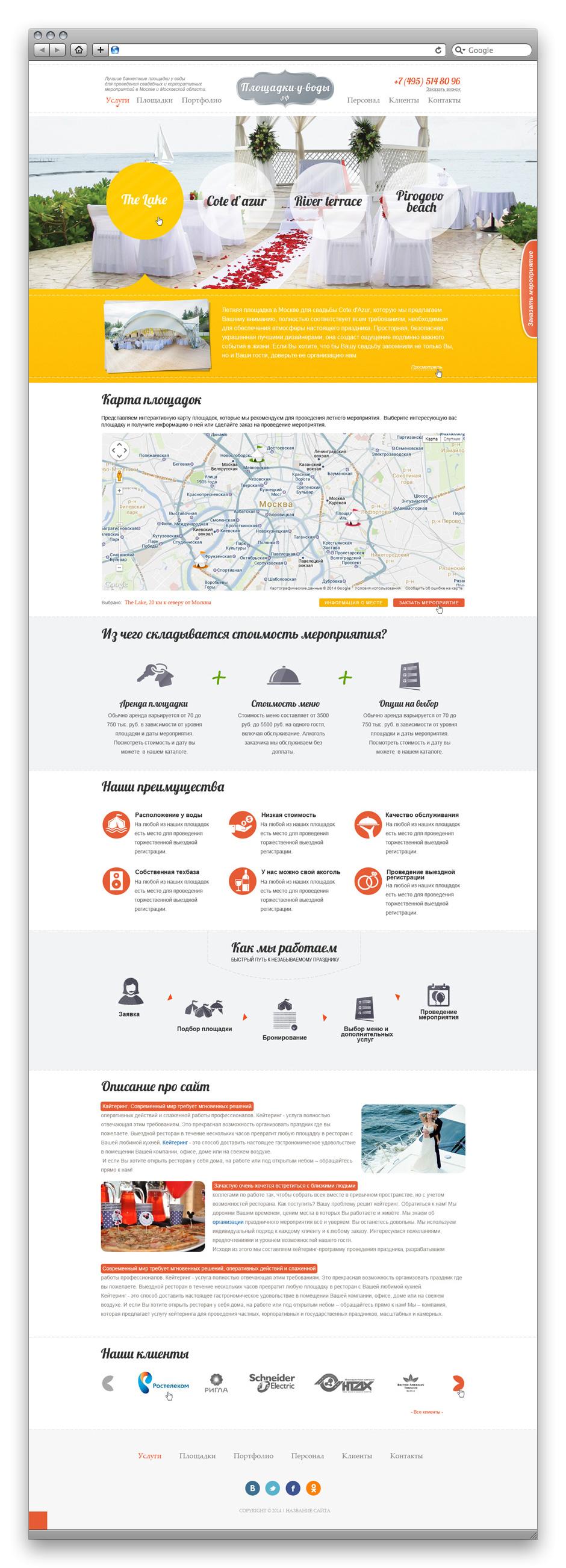 4 свадебных площадки в Москве