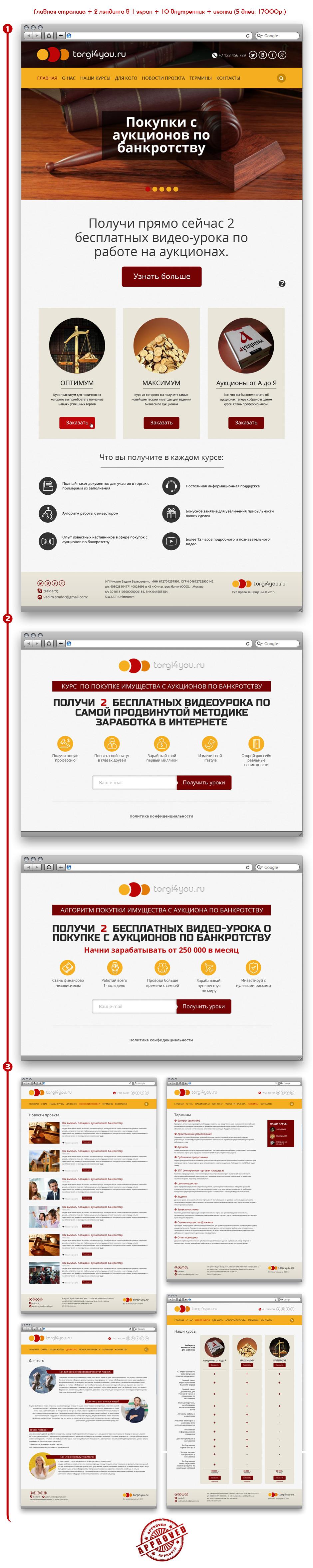 Сайт торговли по аукционам Torgi4you.ru
