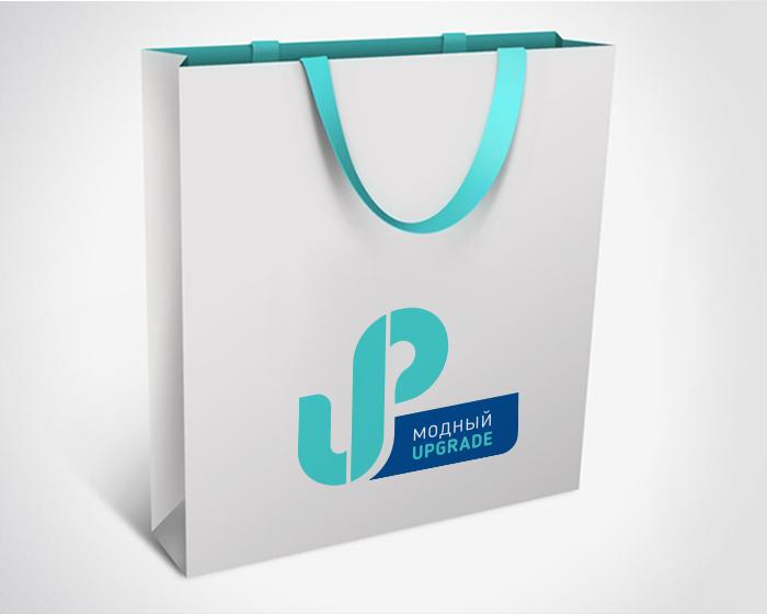"Логотип интернет магазина ""Модный UPGRADE"" фото f_39059491b57d4ff2.png"