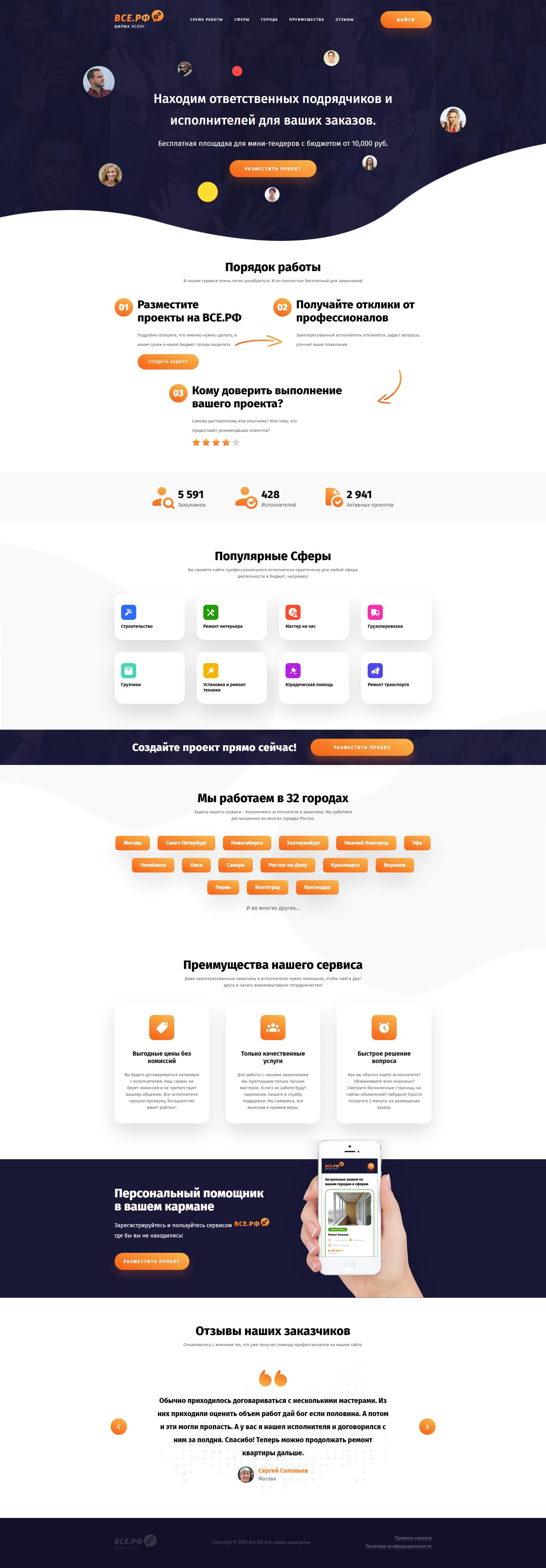 Онлайн-сервис Все.рф