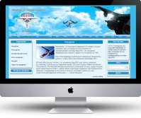 Аэроклуб CMS WordPress