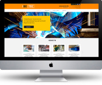 Верстка сайта IBETEC