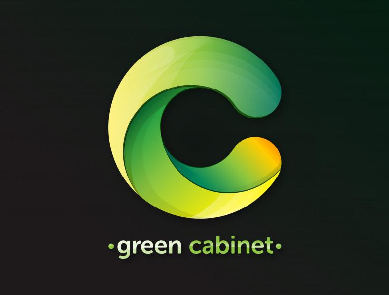 Логотип green cabinet