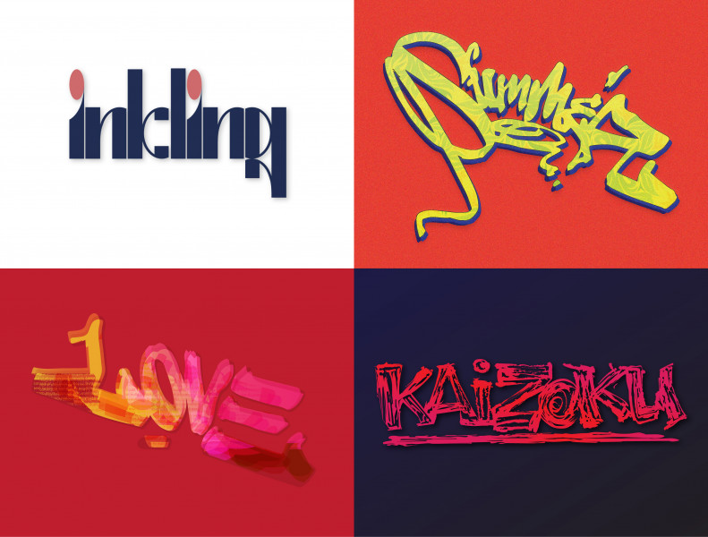 Шрифтовые логотипы 2021