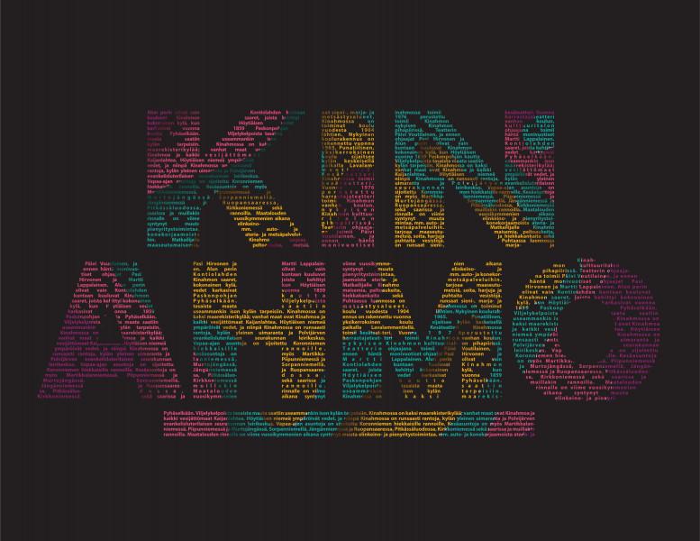 """Дизайн/ иллюстрация """"Kinahmo"""" для сайта финского муниципалитета Кинахмо провинции Северная Карелия"""