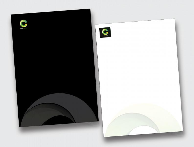 green cabinet дизайн фирменной брошюры 2021