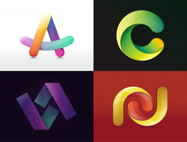 3D логотипы 2021
