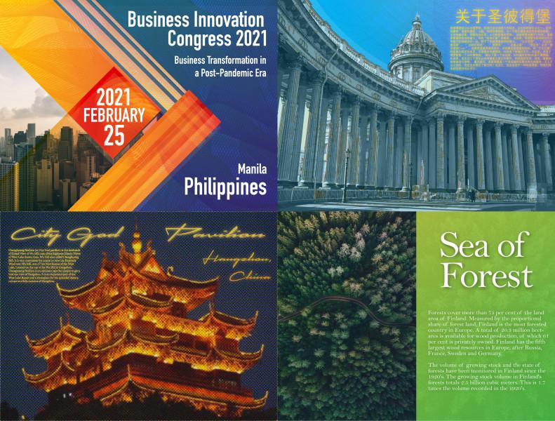 Постеры, брошюры, полиграфия 2021