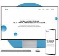 WordPress CMS Сайт студии web-дизайна (Португалия)