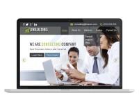 Дизайн Главной страницы корпоративного сайта консалтинговой фирмы