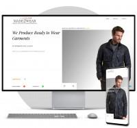 Wordpress CMS  Информационный сайт ателье (Португалия)
