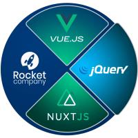 Разработка фронтенда на VueJS и NuxtJS. Вёрстка сайтов.