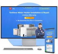CMS WordPress Сайт компании по ремонту сантехники (США)