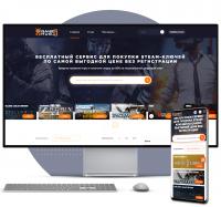 Laravel VueJS Интернет-каталог магазинов STEAM-ключей