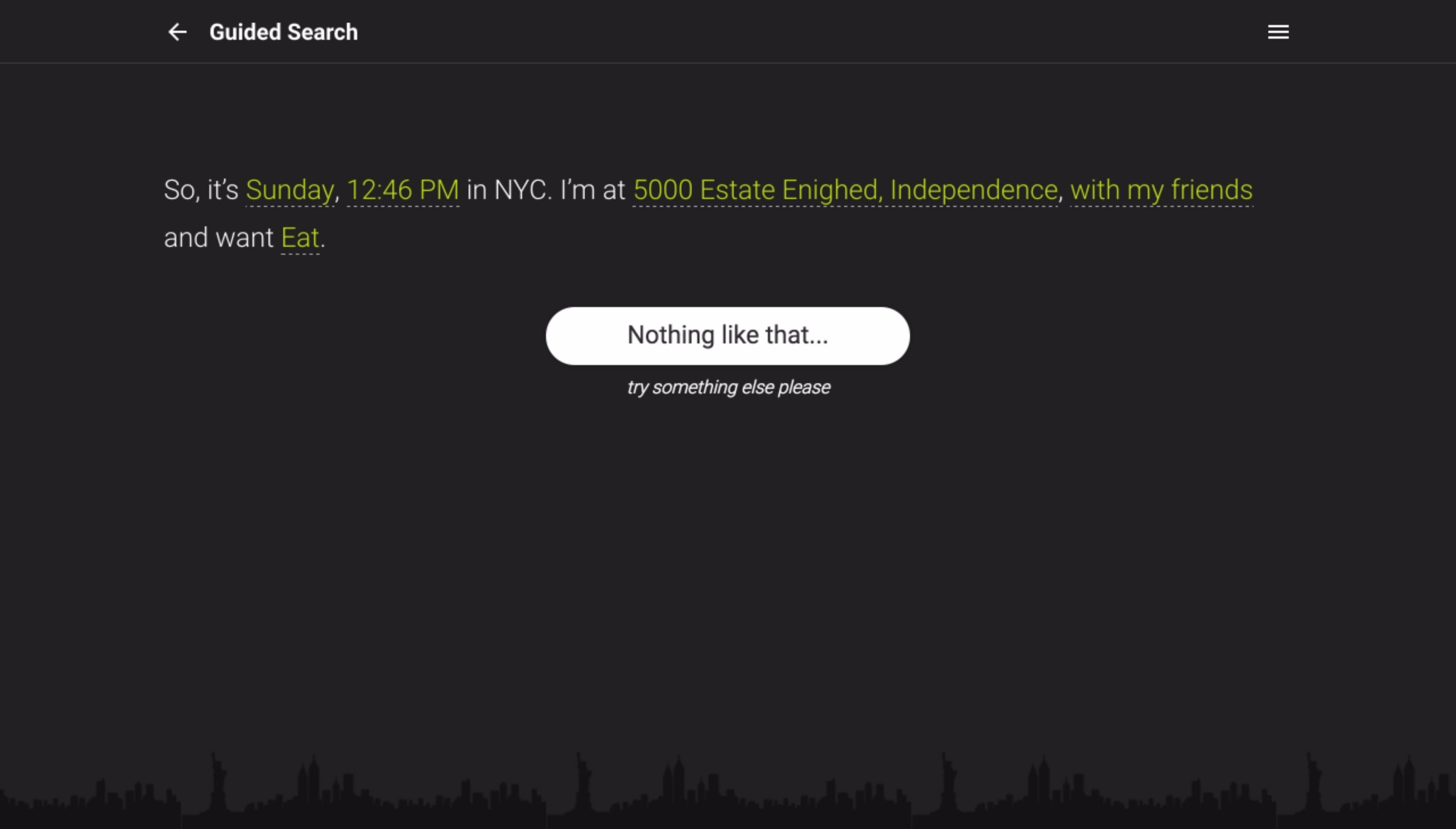 OpenLate NYC - Поисковая система мест отдыха