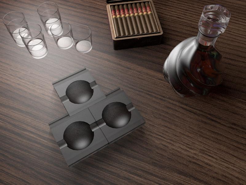 Дизайн пепельницы для сигар (не сигарет) фото f_226583f23345b830.jpg