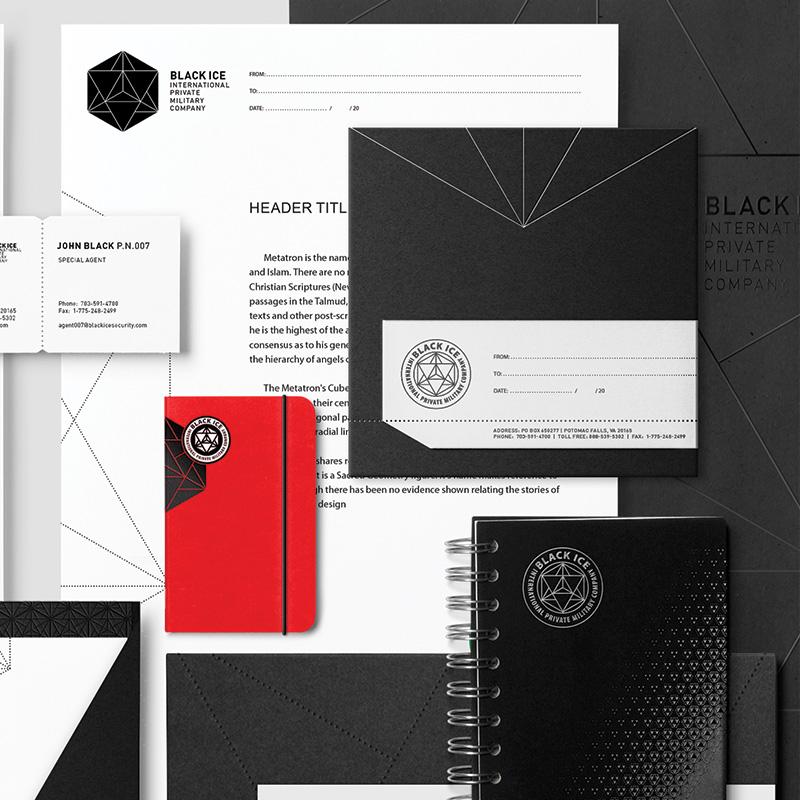 """Логотип + Фирменный стиль для компании """"BLACK ICE"""" фото f_06956f2569393f4d.jpg"""
