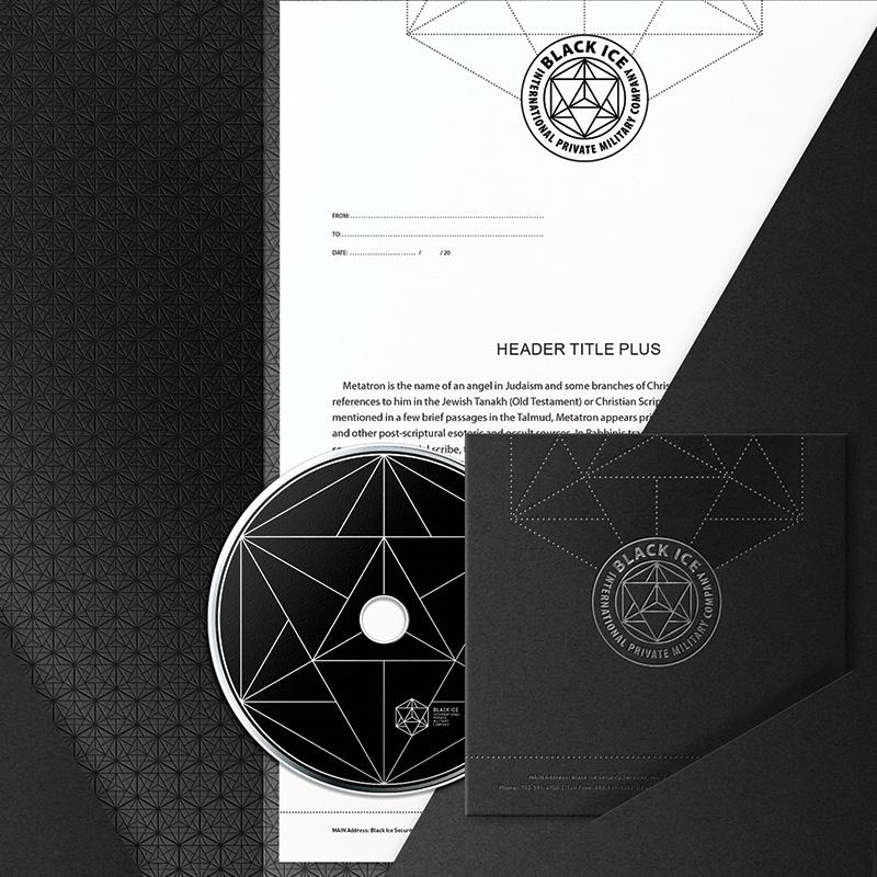 """Логотип + Фирменный стиль для компании """"BLACK ICE"""" фото f_27056f25993a045b.jpg"""