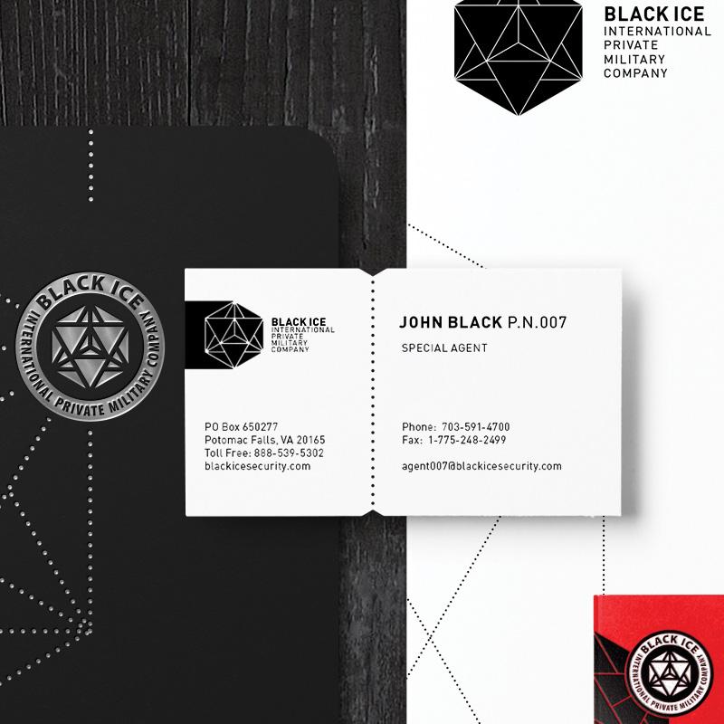 """Логотип + Фирменный стиль для компании """"BLACK ICE"""" фото f_53356f25698995c0.jpg"""