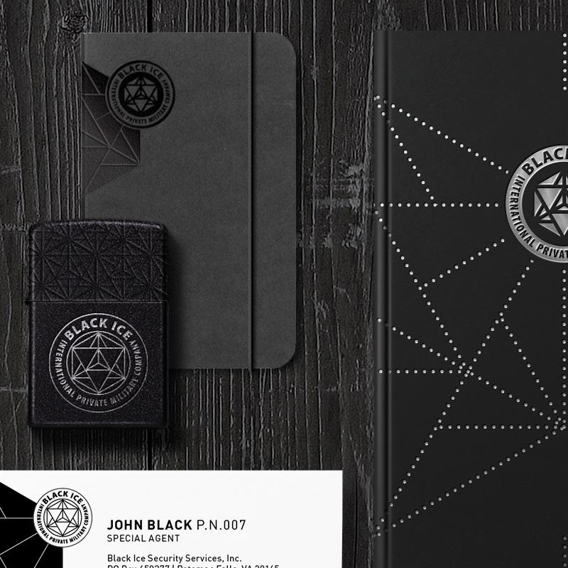 """Логотип + Фирменный стиль для компании """"BLACK ICE"""" фото f_61356f259a7888bd.jpg"""