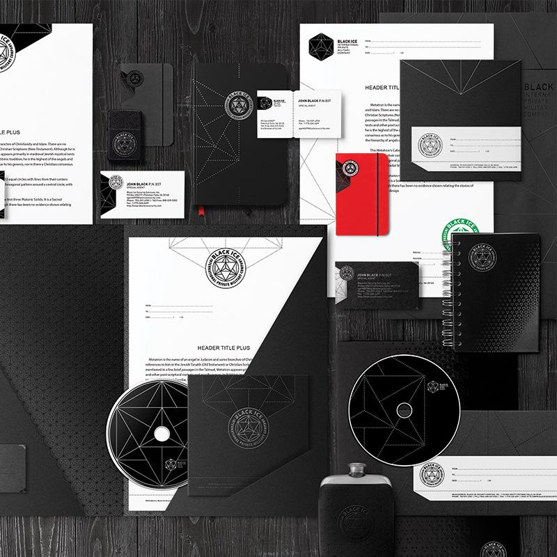 """Логотип + Фирменный стиль для компании """"BLACK ICE"""" фото f_63656f259c3e1fd2.jpg"""