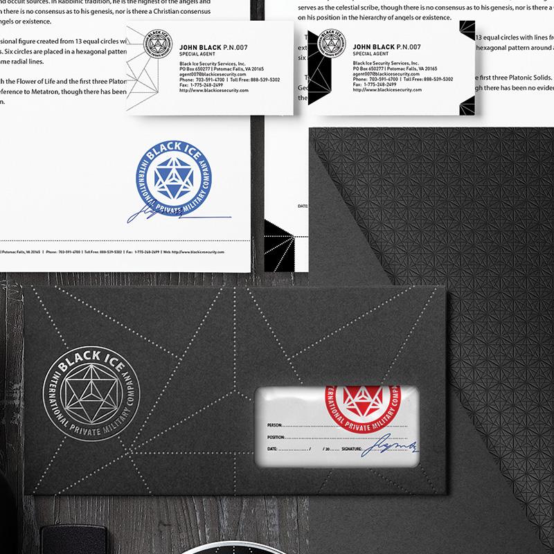 """Логотип + Фирменный стиль для компании """"BLACK ICE"""" фото f_87356f2565a2f0b5.jpg"""