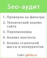Seo-аудит gfedu.ru