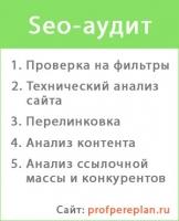 Seo-аудит profpereplan.ru