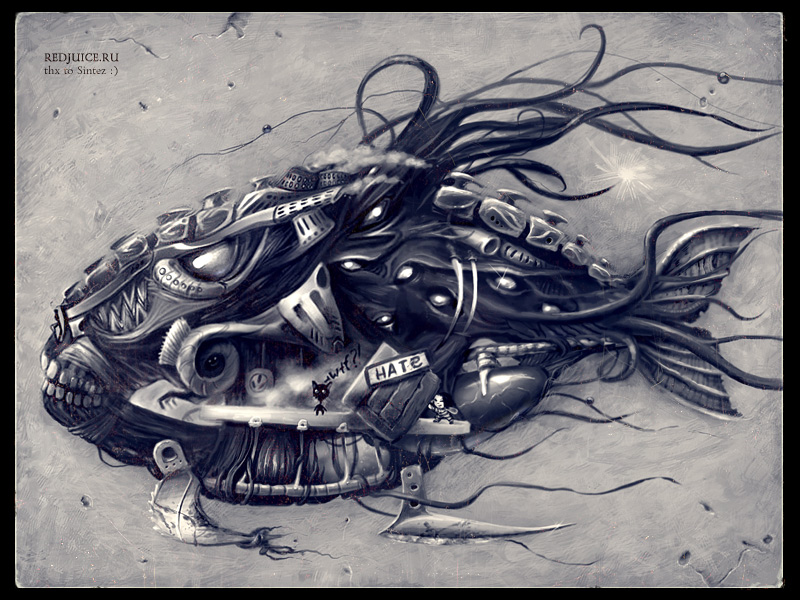 Angry Mechanical Fish-II