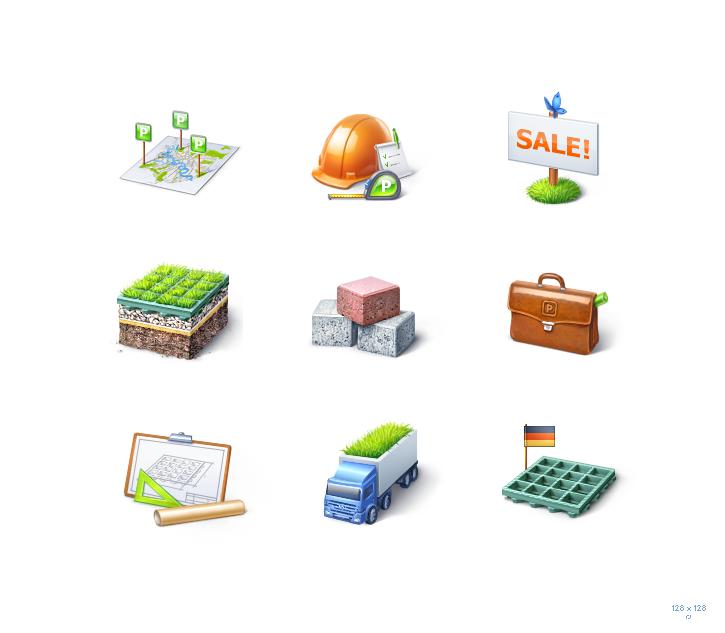 Иконки для ecoparkovka.ru (128px)
