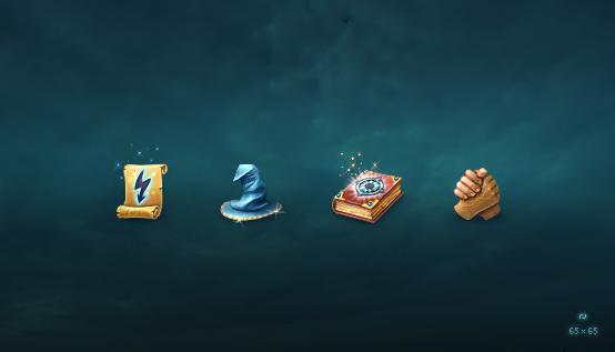 Иконки для сайта игры 65px