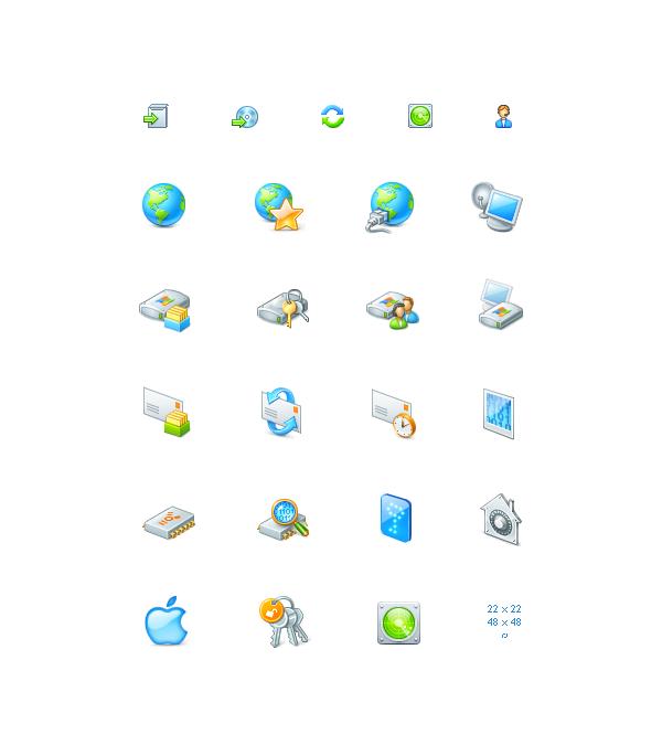 Иконки для программы Passware Kit
