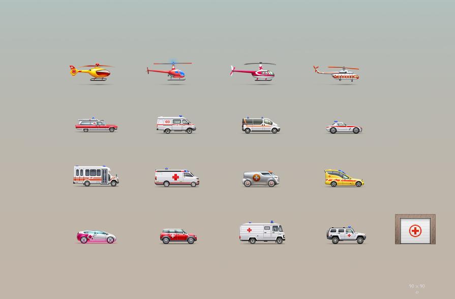 Машинки для игры 90px