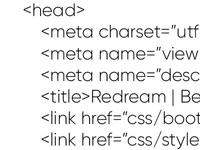 Адаптивная верстка (html, css, js)