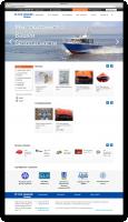 Интернет магазин по продаже судового снабжения на 1С-Битрикс с Интеграцией 1С