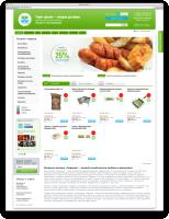 Интернет-магазин по продаже колбасных и мясных изделий на 1С-Битрикс с Интеграцией 1С